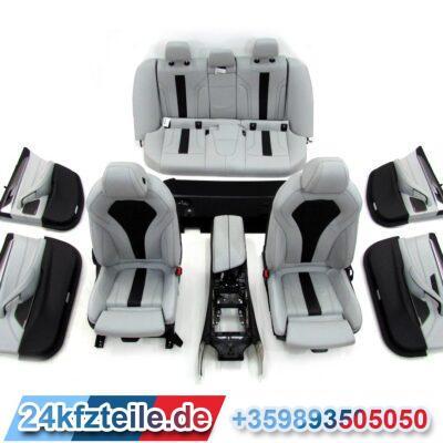 "Комплект салон LKA9 Leather ""Merino"" silverstone BMW F90 M5 и G30"
